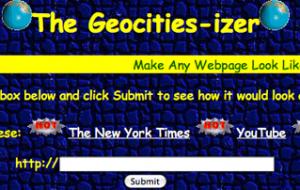 [Web] Un petit coup de Nostalgie ?