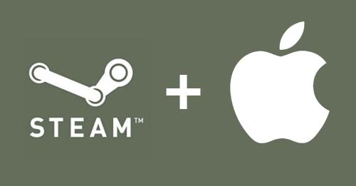 Steam on Mac.