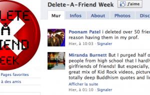 [Web] Delete a friend week