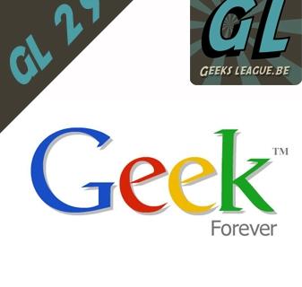Geeksleague # 29 Google + et encore plus