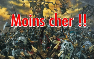 Acheter moins chères les figurines Warhammer