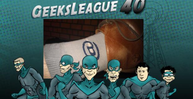 Geeksleague 40 les chaussettes du café numérique sont-elles geek ?