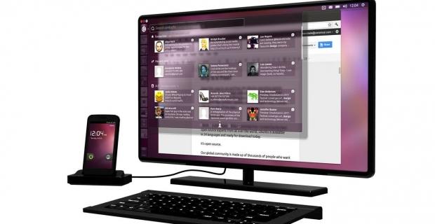 Annonce d'un smartphone baptisé « Ubuntu pour Android »