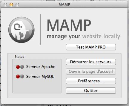 Mamp_MySQL