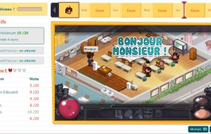 Le test de Teacher story par Geeksleague