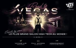 Concours gagne un voyage au CES à Las Vegas !