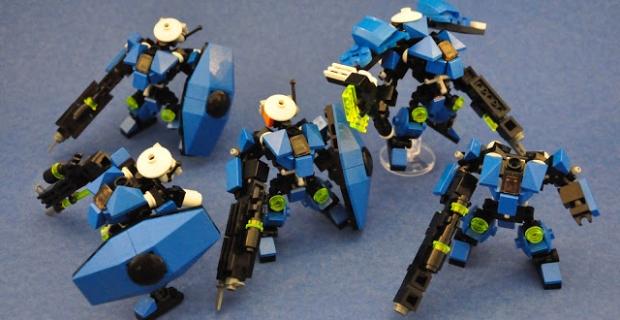 Mobile Frame Zero (MFZ) le wargame en Lego®!