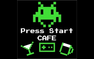 Press Start cafe à Namur