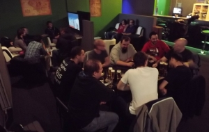 Geeksleague 111 au Press Start café de Namur