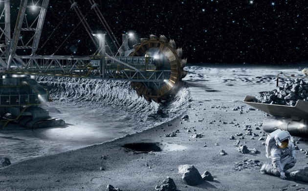 Space Mining : Phase 1 prospection