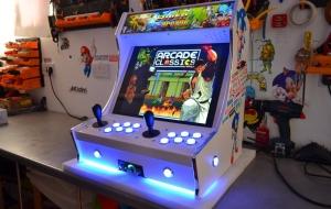 Construire sa borne d'arcade