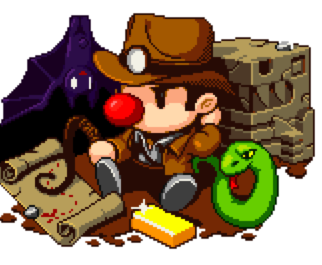 Spelunky Splash Screen