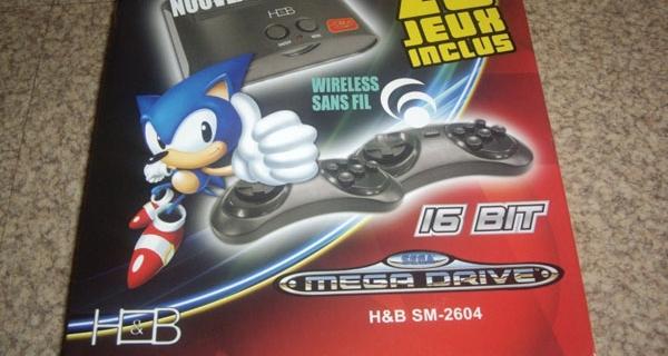 [Test] La ré-édition de la MegaDrive par H&B.