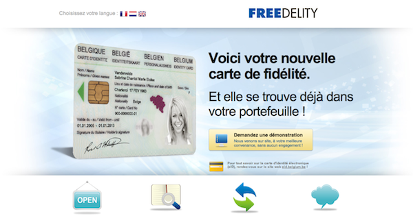 [HighTech] Marre de perdre vos cartes de fidélité ? Freedelity arrive !