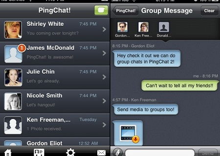 [Appli android/iphone] Pinchat