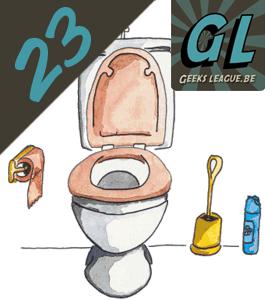 Geeksleague #23 Diarrhée geekolique