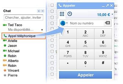 Téléphonez en Belgique avec Gmail pour 0,02 €