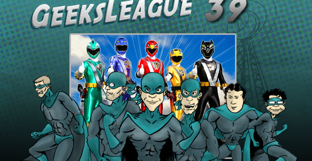 Geeksleague 39 Les Belgo-Power Rangers