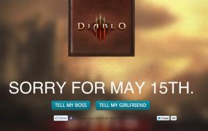 15 Mai, sortie officielle de Diablo III !