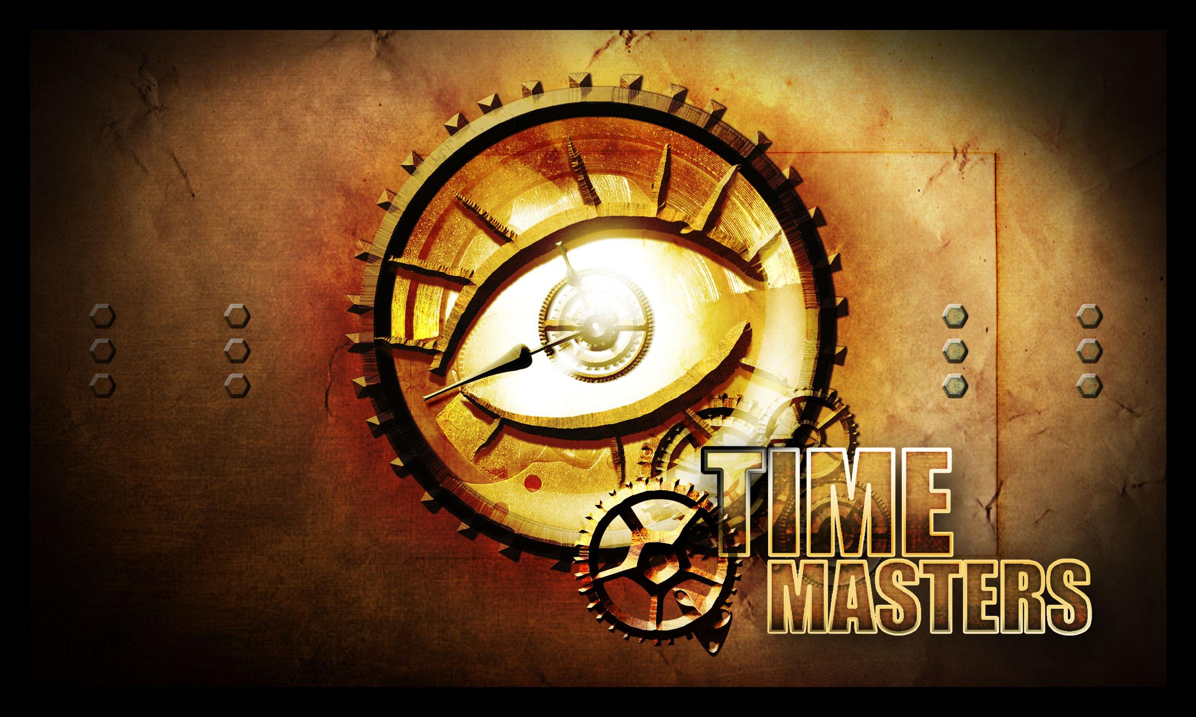Dos de carte du jeu Time Masters
