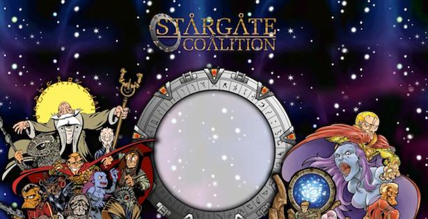 Stargate coalition, un nouveau JdrA sur l'univers de stargate