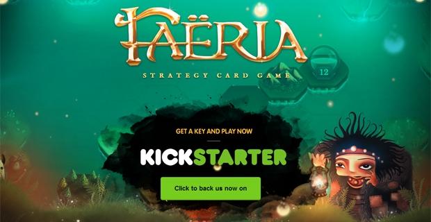 Faëria se lance sur Kickstarter