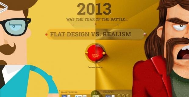 Flat vs Realism