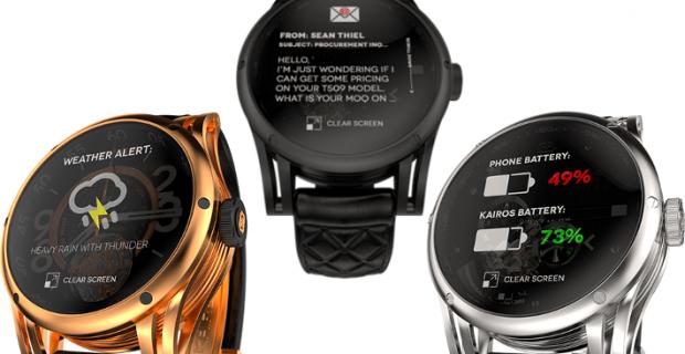 Kairos, une smartwatch normale