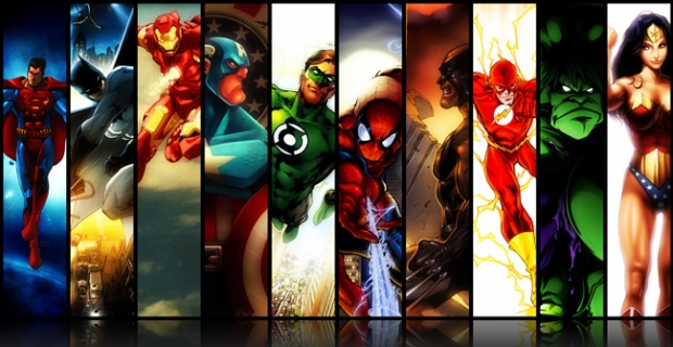 Tous les films de super héros prévu … tu aimes les super-héros ?
