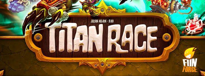 Titan race, fait la course avec des titans
