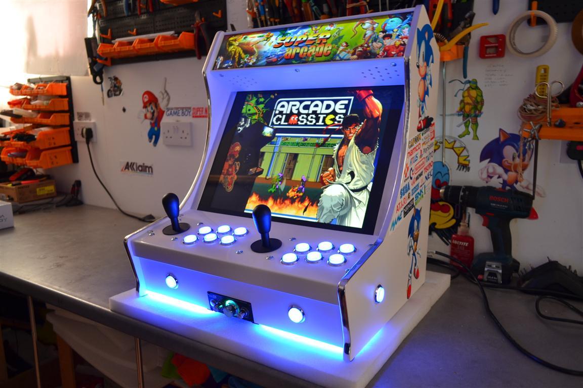 borne arcade avec pc