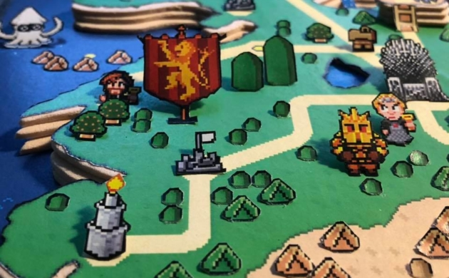 3D Paper Dioramas Of Classic Videogames